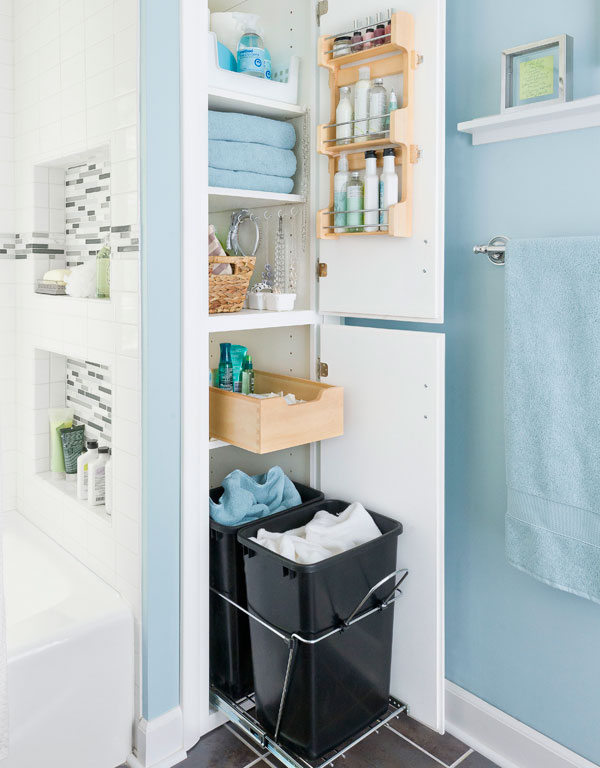 Amazingly Small Bathroom Storage Solution Ideas