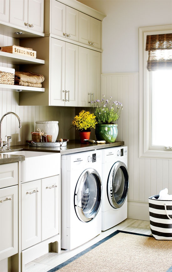 Small laundry rooms ideas - Utility rooms in small spaces gallery ...