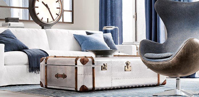 Family Friendly Trunk Coffee Tables