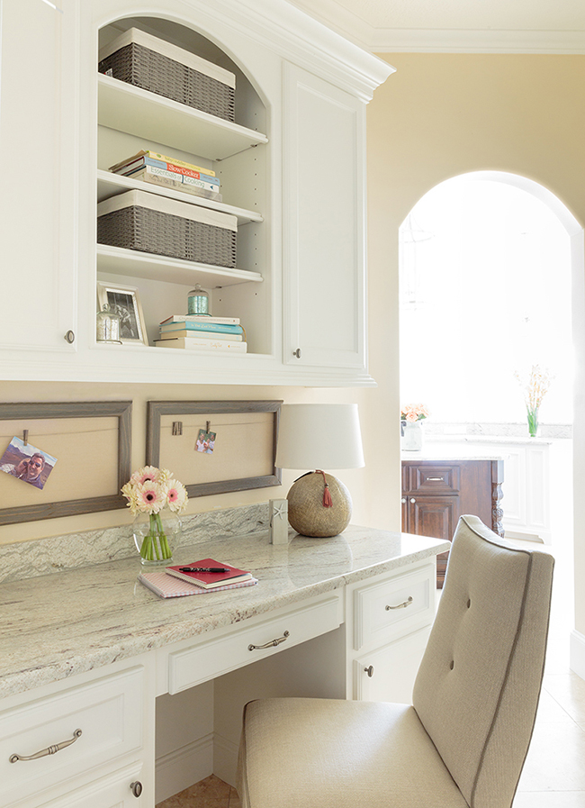 Desk In Kitchen Design Ideas Part - 41: Marker Girl Kitchen Desk