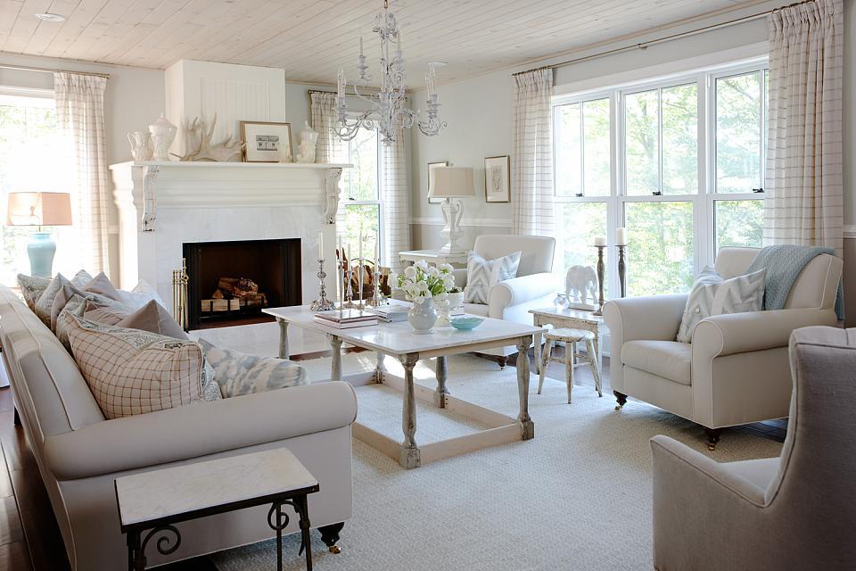 Inspirational interiors - Sarah richardson living room ideas ...