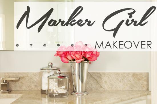 Marker Girl Home - Bathroom Makeover