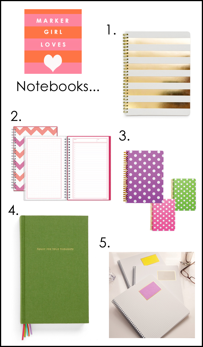 notebook favs