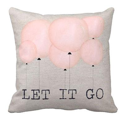 Let It Go Pillow