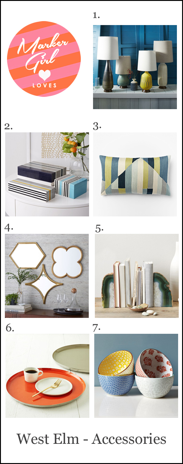 west elm accessories