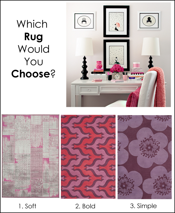 which rug would you choose Marker Girl Officesm
