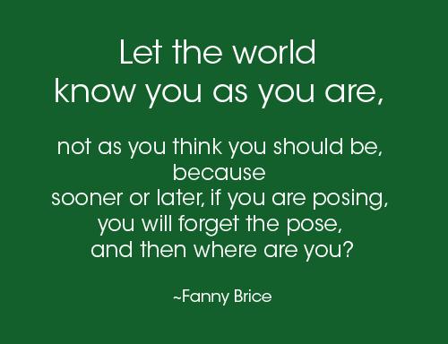 fanny brice quote