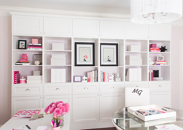 Marker Girl Design Studio Bookcases