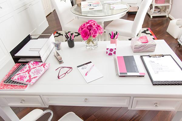 Marker Girl Interior Design Studio Desk