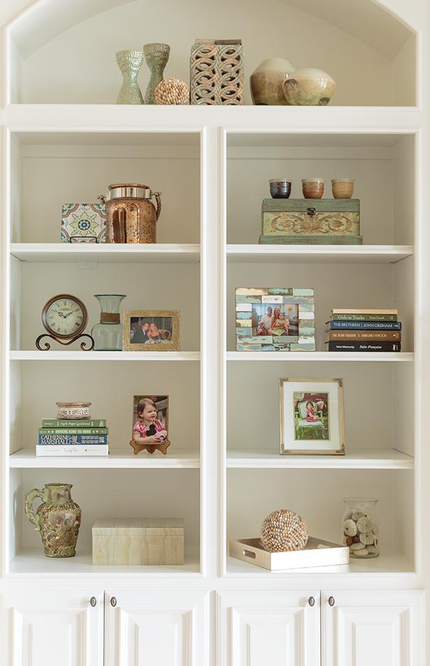 Marker Girl Bookcase Detail