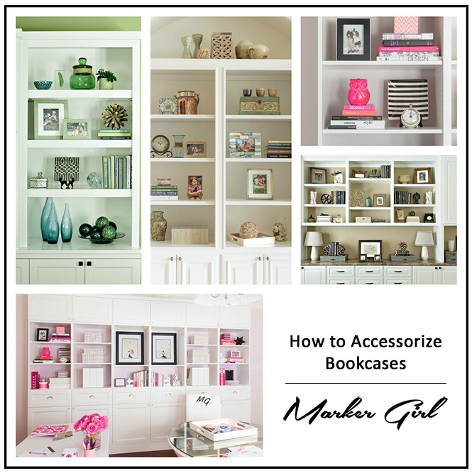 bookcase collage frame