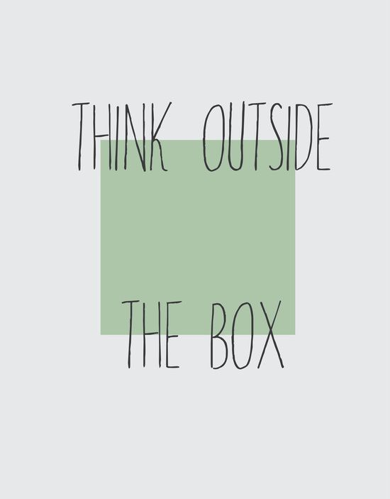 thinkoutof thebox