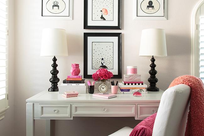 Marker Girl Home Studio Desk