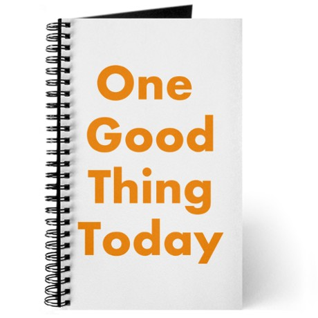 one_good_thing_today_journal