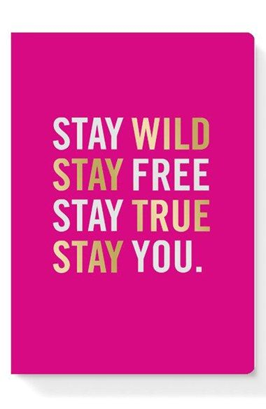 stay wild notebook