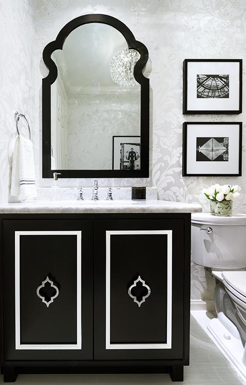 Marker Girl Powder Bathroom