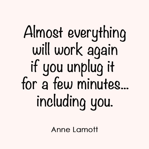 Marker Girl Monday – Unplug