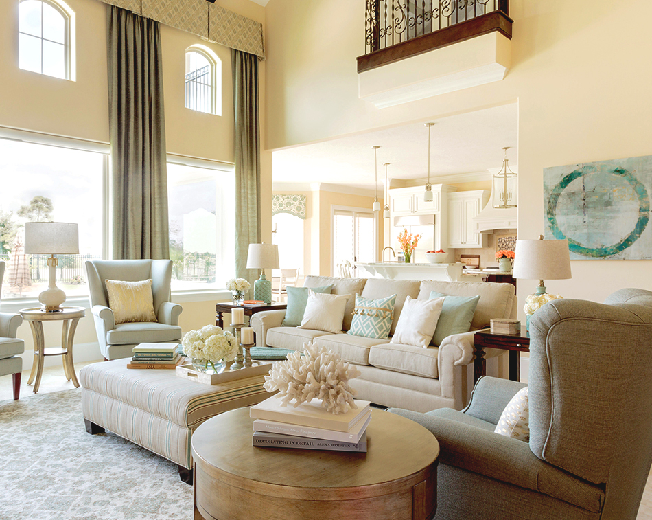 Family Room Functional Design