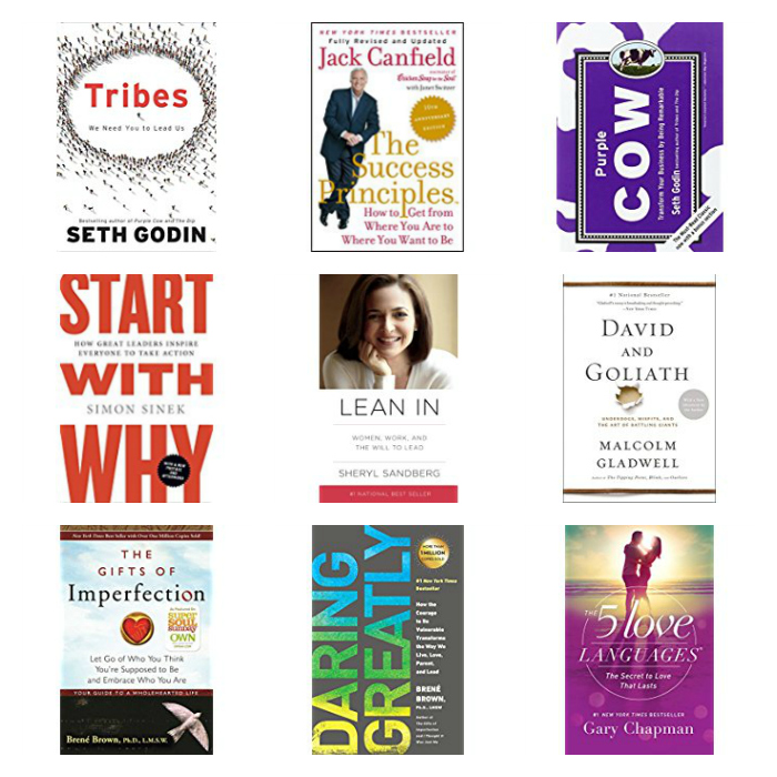 Favorite Books for Entrepreneurs and Self Help Junkies