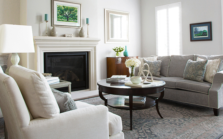 Mixing Traditional Furniture and Modern Décor – A Townhome Makeover