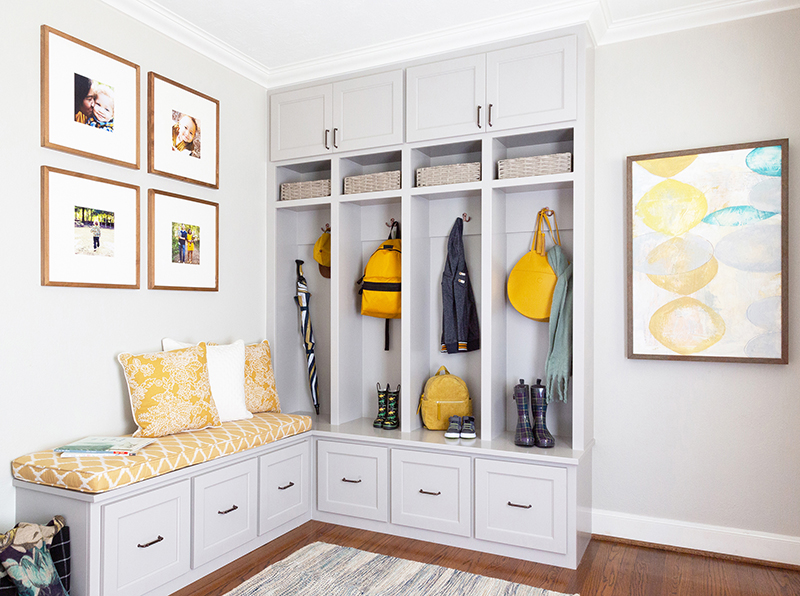 Small Home Gets A Grown Up Family-Friendly Makeover
