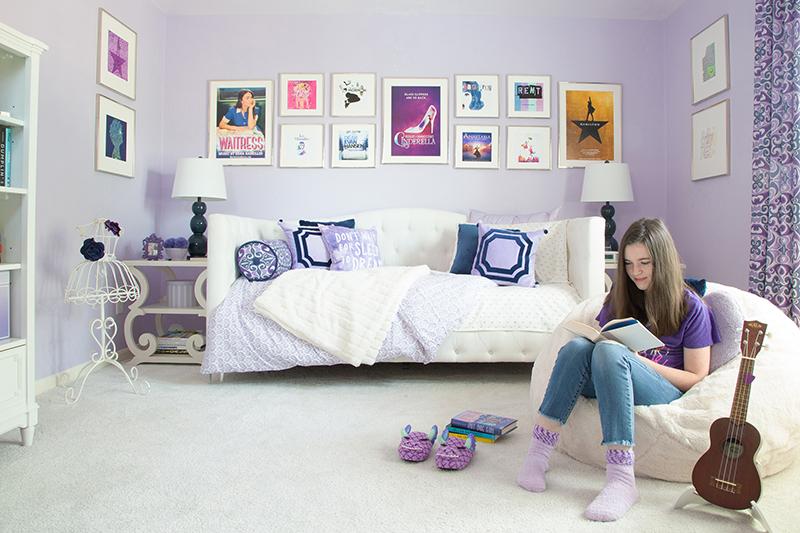 Back to School Challenge: Week 1 My Daughter's Bedroom Makeover