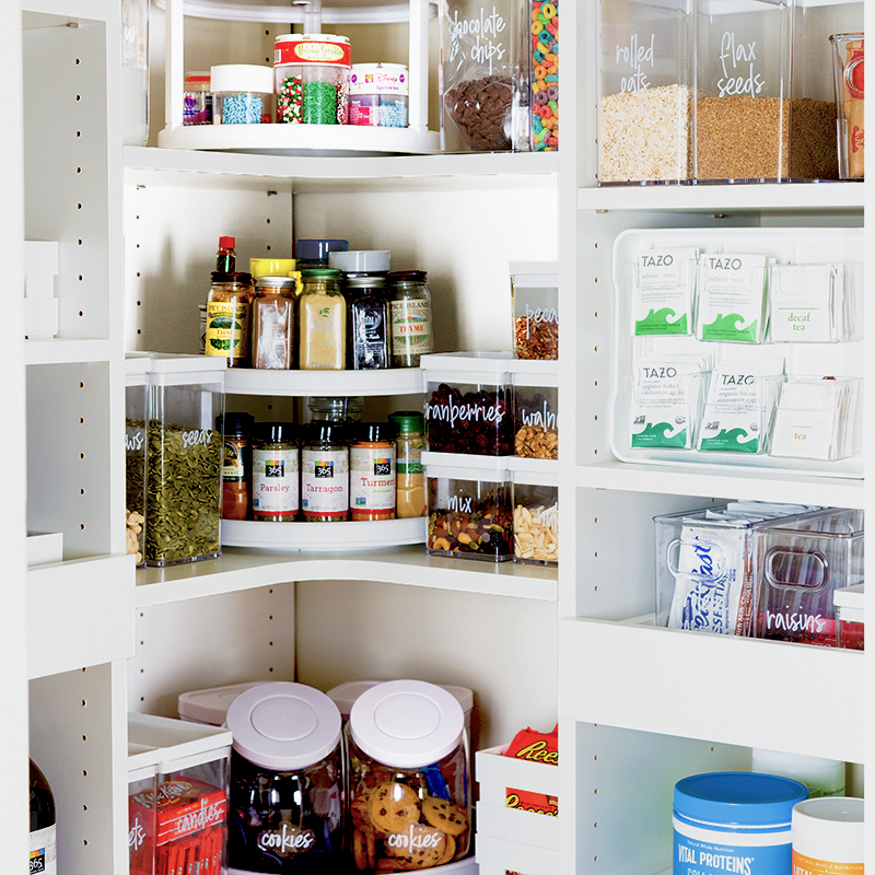 Back To School Challenge: Week 4 My Kitchen Pantry Makeover