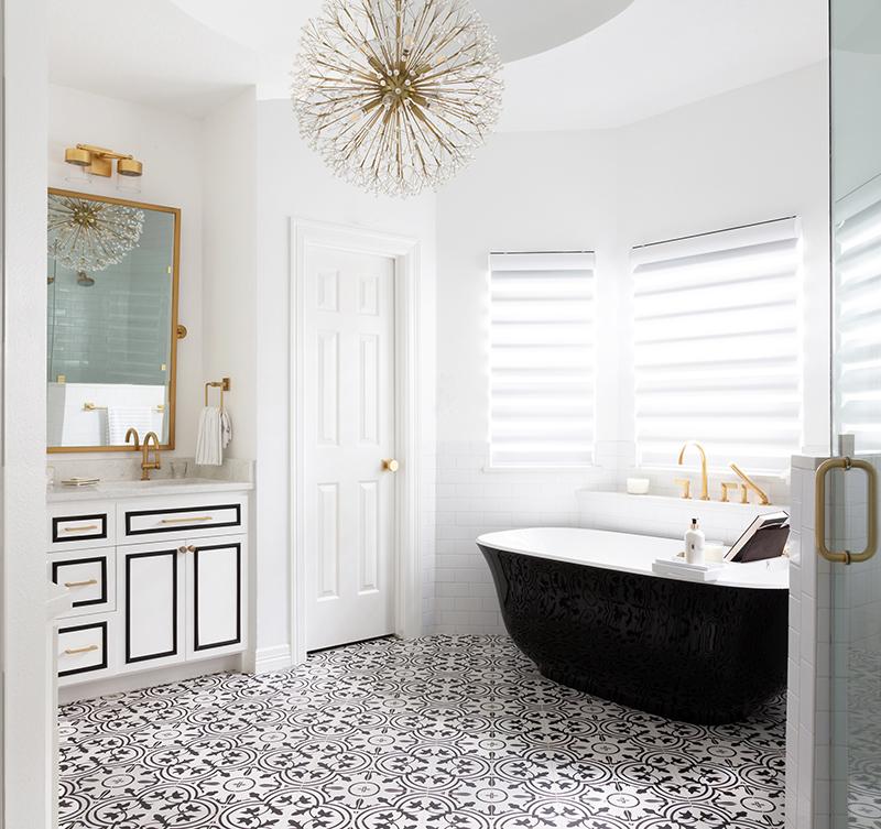 Modern Family Remodel – Master Bathroom and Girls Bathroom